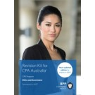 CPA Australia: Ethics and Governance (Revision Kit)