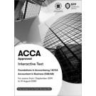 ACCA (FA) Financial Accounting (Interactive Text)