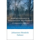 Judicial Deference in International Courts: A Comparative Analysis