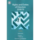 Rights and Duties of Directors 2018/19