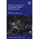 Research Handbook on European Social Security Law