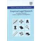 Empirical Legal Research: A Guidance Book for Lawyers, Legislators and Regulators