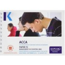 ACCA F2 Management Accounting (Pocket Notes)