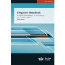 Litigation Handbook: Practice and Procedure in the Business and Property Courts