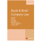 Boyle and Birds' Company Law, 10th Edition