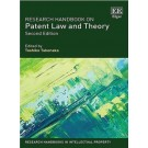Research Handbook on Patent Law and Theory, 2nd Edition
