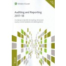 CCH Auditing and Reporting 2017-18