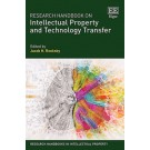 Research Handbook on Intellectual Property and Technology Transfer
