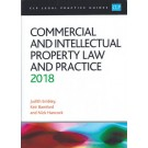 CLP Legal Practice Guides: Commercial and Intellectual Property Law and Practice 2018