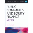 CLP Legal Practice Guides: Public Companies and Equity Finance 2018