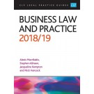 CLP Legal Practice Guides: Business Law and Practice 2018/19