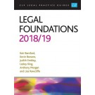 CLP Legal Practice Guides: Legal Foundations 2017/18