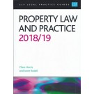 CLP Legal Practice Guides: Property Law and Practice 2018/19