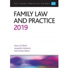 CLP Legal Practice Guides: Family Law and Practice 2019