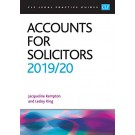CLP Legal Practice Guides: Accounts for Solicitors 2019/20