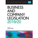 CLP Legal Practice Guides: Business and Company Legislation 2019/20