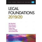 CLP Legal Practice Guides: Legal Foundations 2019/20