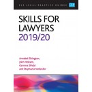 CLP Legal Practice Guides: Skills for Lawyers 2019/20