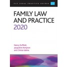CLP Legal Practice Guides: Family Law and Practice 2020