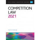 CLP Legal Practice Guides: Competition Law 2021