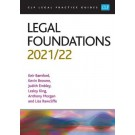 CLP Legal Practice Guides: Legal Foundations 2021/22
