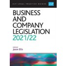 CLP Legal Practice Guides: Business and Company Legislation 2021/22