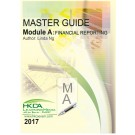 Master Guide Module A : Financial Reporting 2017