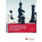 Personal Financial Services Essentials for Lawyers