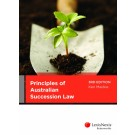 Principles of Australian Succession Law, 3rd Edition