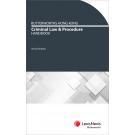 Butterworths Hong Kong Criminal Law and Procedure Handbook, 2nd Edition