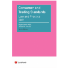 Consumer and Trading Standards: Law and Practice, 9th Edition