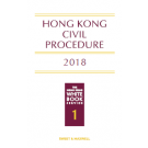Hong Kong Civil Procedure 2018