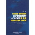 Cross Border Enforcement Of Debts in the European Union, Default Judgments, Summary Judgments and orders for Payment