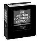 Corporate Counsellor's Deskbook, Fifth Edition