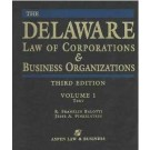 Delaware Law of Corporations & Business Organizations, Third Edition