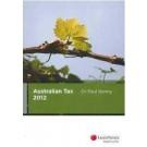 Australian Tax 2012