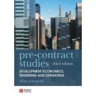 Pre-contract Studies: Development Econimics, Tendering and Estimating, 3rd Edition