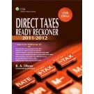 Direct Taxes Ready Reckoner, 25th Edition