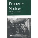 Property Notices: Validity and Service, 2nd edition