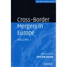 Cross-Border Mergers in Europe: 2 Volume Hardback Set