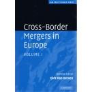 Cross-Border Mergers in Europe: Volume 1