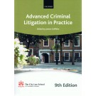 Bar Manual: Advanced Criminal Litigation in Practice 9th Edition