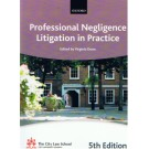 Bar Manual: Professional Negligence Litigation in Practice  5th Edition