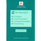 Bar Manual: Test Yourself in Evidence, Civil Procedure, Criminal Procedure and Sentencing 16th Edition