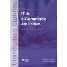 Blackstone's Statutes on IT and e-commerce 4th Edition