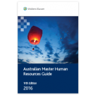 Australian Master Human Resources Guide, 11th Edition