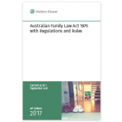 Australian Family Law Act 1975 with Regulations and Rules, 35th Edition