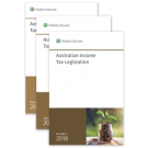 Australian Income Tax Legislation 2018 (3 Volume Set)