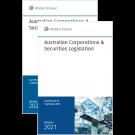 Australian Corporations & Securities Legislation 2021 - Volume 1 & 2 Set