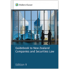 Guidebook to New Zealand Companies and Securities Law, 9th Edition